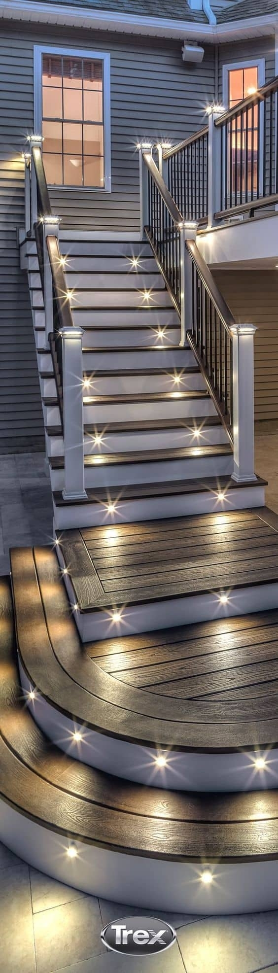 Inspiration about 27 Outdoor Step Lighting Ideas That Will Amaze You With Contemporary Led Post Lights For Mini Garden (#10 of 15)