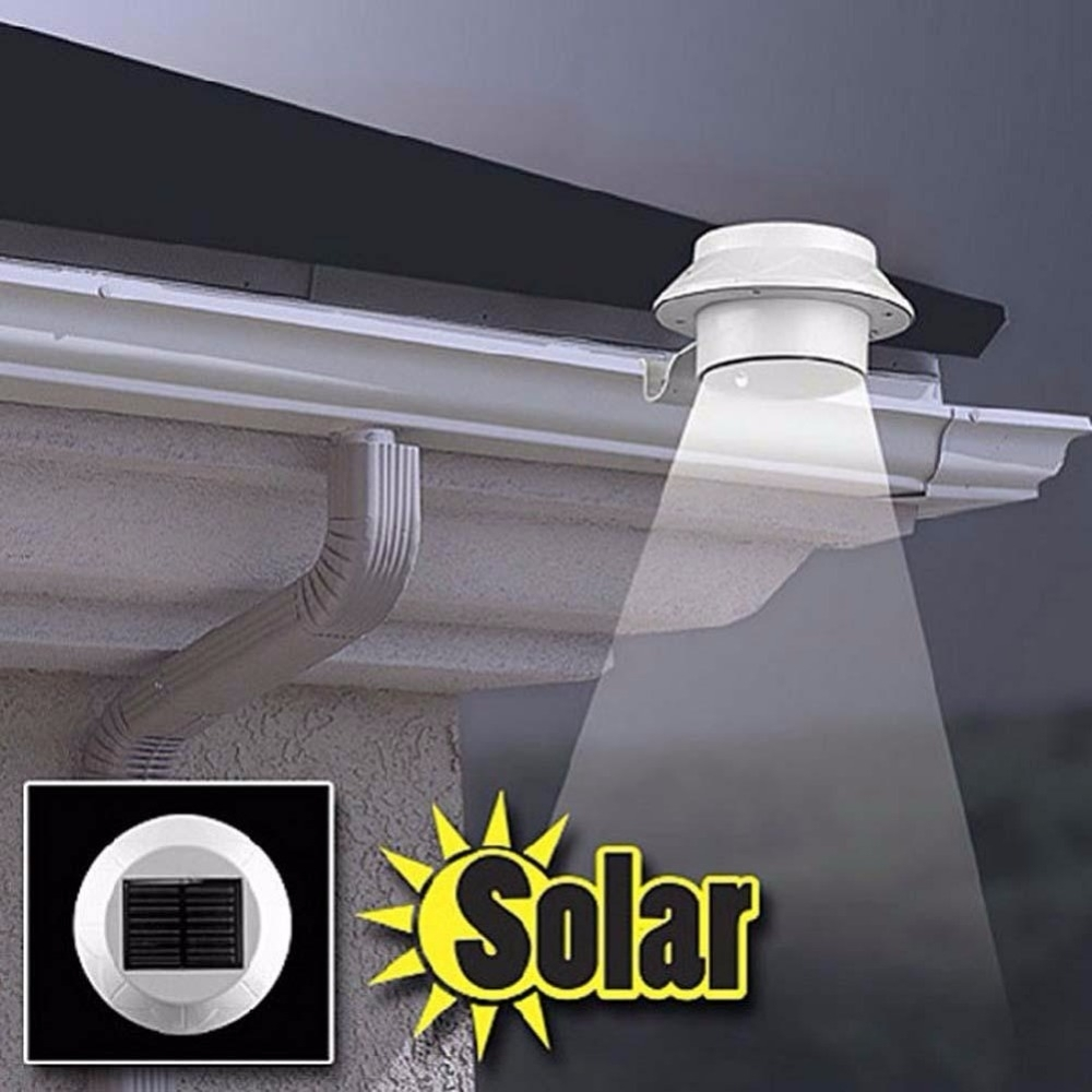 Inspiration about 3 Bright White Led Garden Led Solar Light Outdoor Waterproof Garden Inside Outdoor Solar Ceiling Lights (#7 of 15)