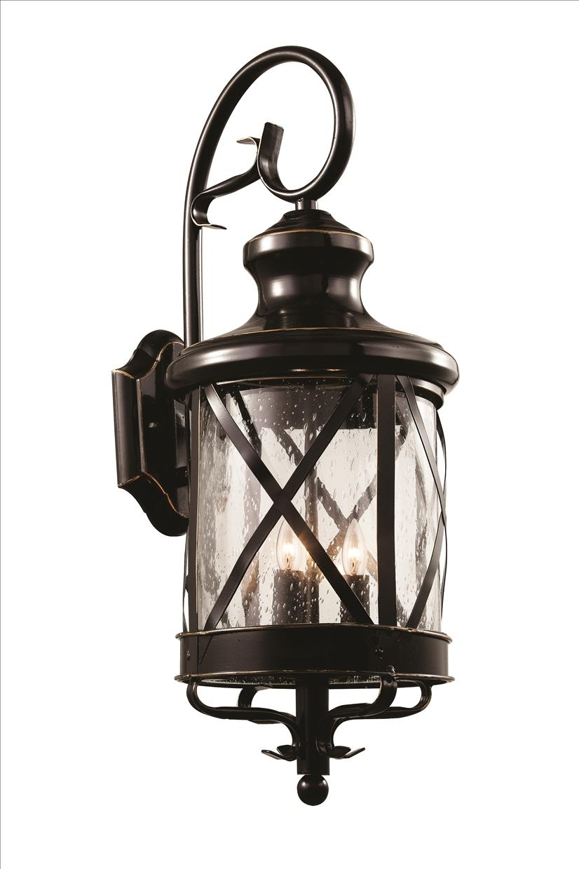 Inspiration about 3 Light Coach Lantern – 5121 Rob [5121 Rob] – $118.50Trans Globe Throughout Outdoor Wall Lantern By Transglobe Lighting (#2 of 15)
