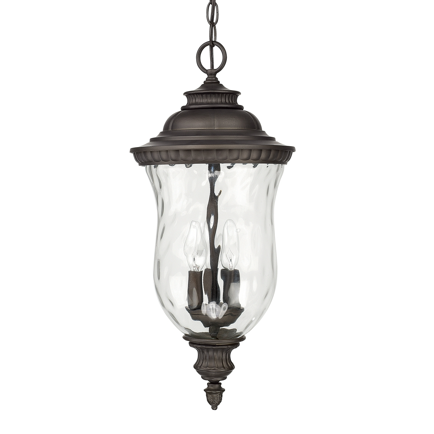 Inspiration about 3 Light Hanging Lantern | Capital Lighting Fixture Company Throughout White Outdoor Hanging Lanterns (#12 of 15)