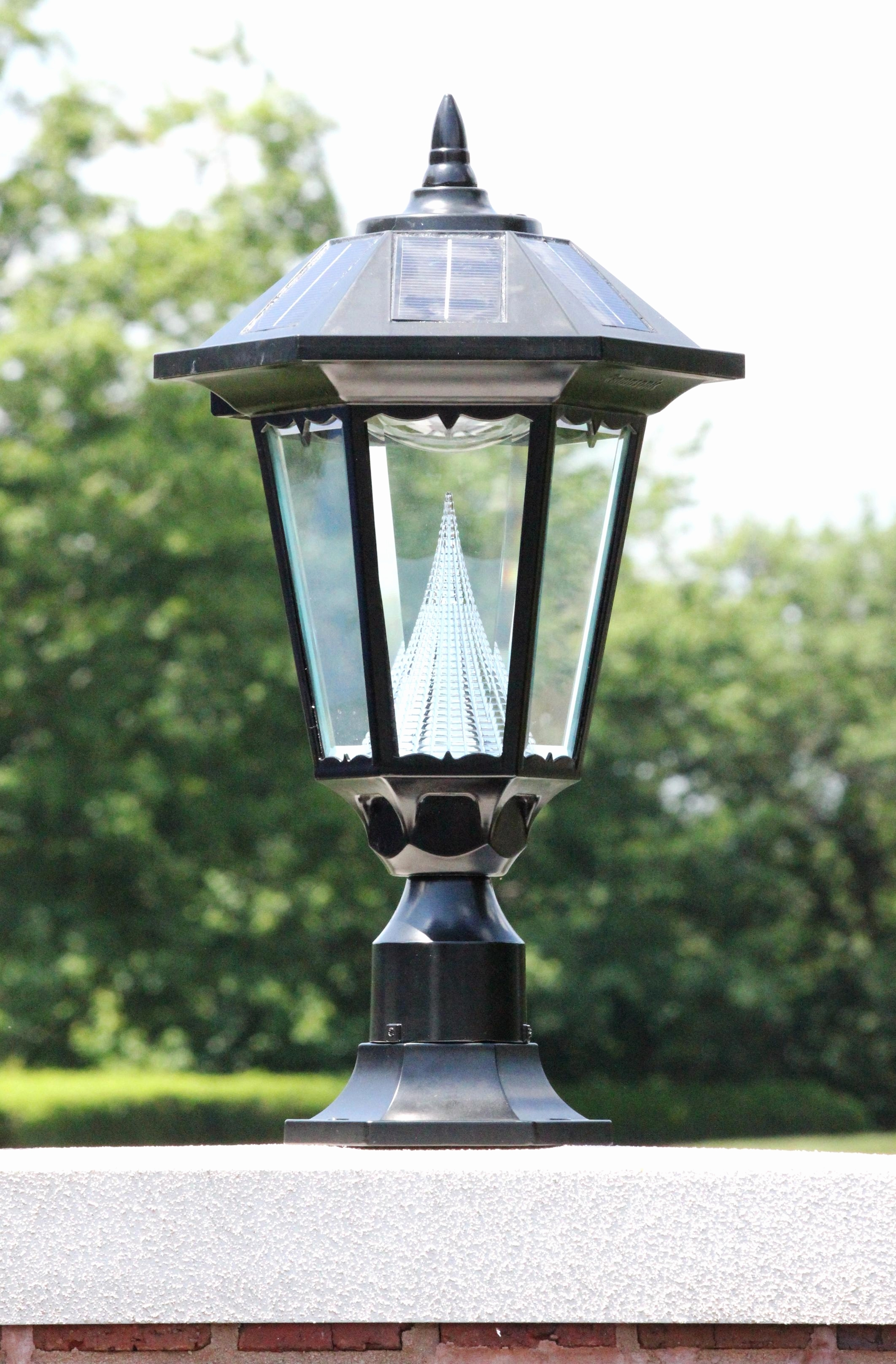 Inspiration about 30 Fresh Patio Lamps Outdoor Lighting Images | Modern Home Interior Inside Modern Led Solar Garden Lighting Fixture (#2 of 15)