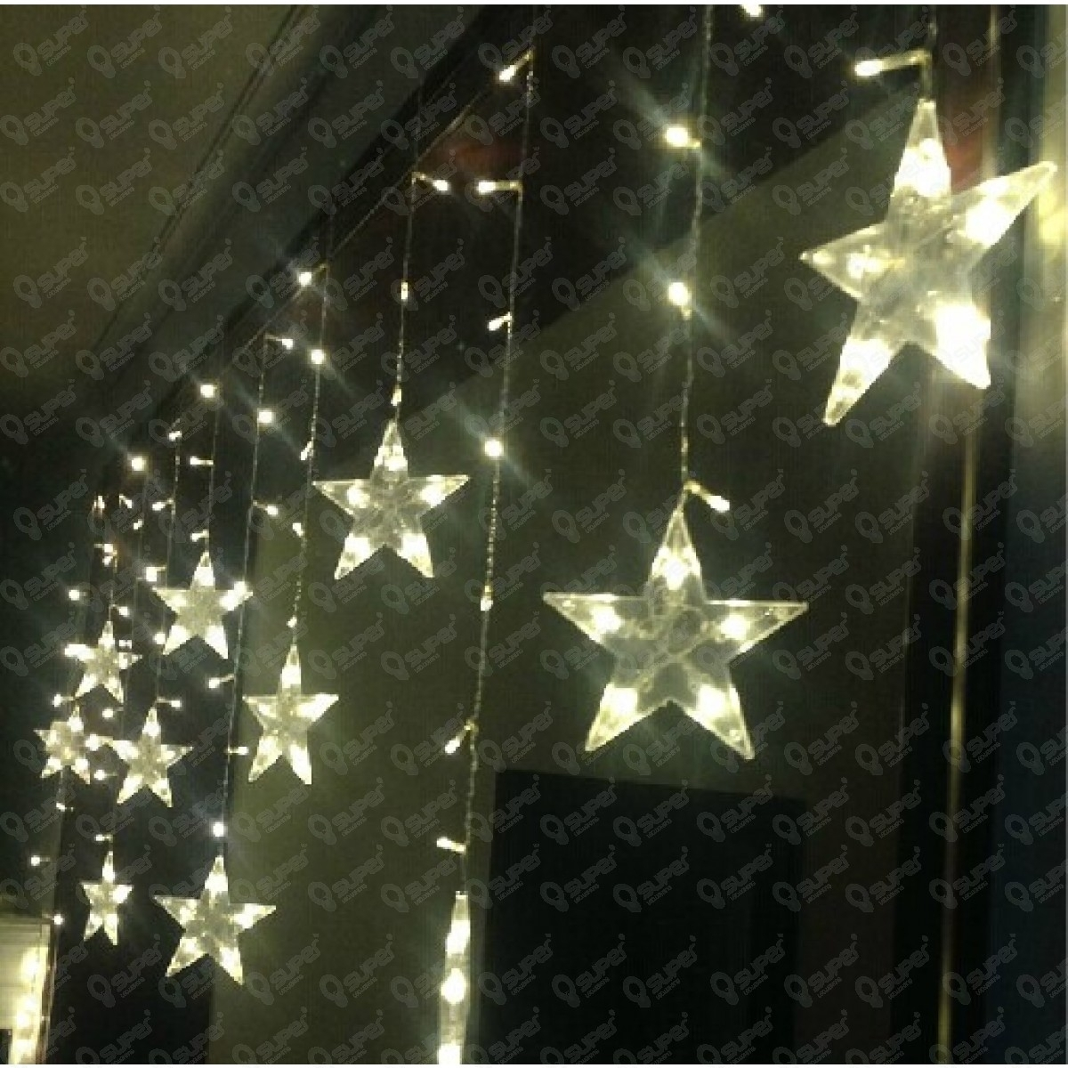 33+ Perfect Hanging Star Christmas | Oksunglassesn For Outdoor Hanging Star Lights (#2 of 15)
