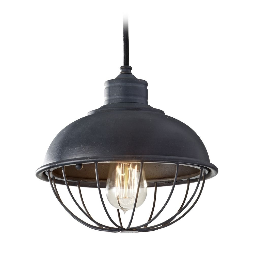 Inspiration about 35 Creative Amazing Zoom Industrial Cage Pendant Light Retro Style For Antique Outdoor Hanging Lights (#15 of 15)