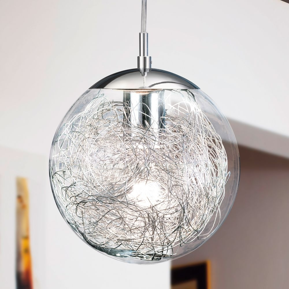 Inspiration about 37 Great Essential Globe Pendant Ceiling Lights Lt Street Lighting Intended For Outdoor Hanging Orb Lights (#8 of 15)