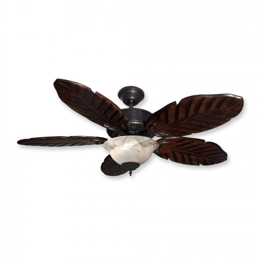 """Inspiration about 42"""" Tropical Ceiling Fan With Light Kit – 300W Max. Regarding Tropical Outdoor Ceiling Lights (#3 of 15)"""