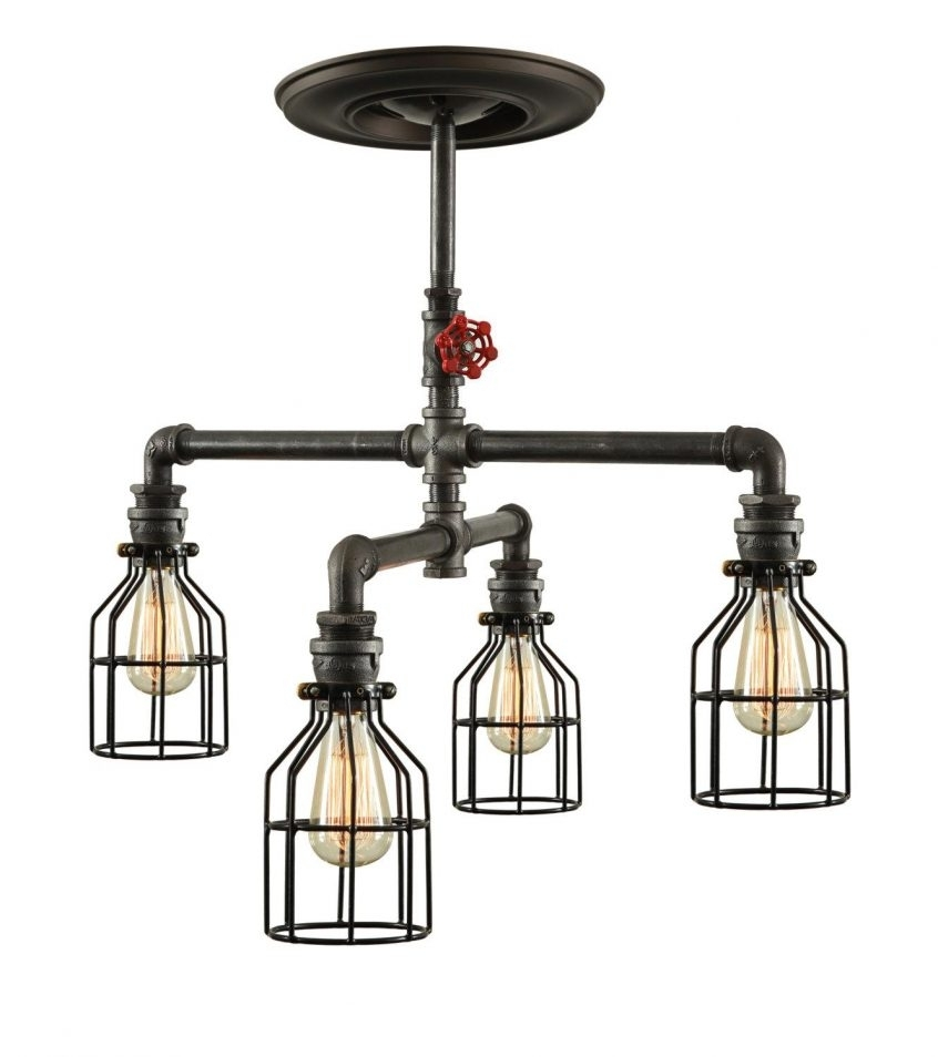 45 Beautiful Crucial Terrific Industrial Ceiling Light Fixtures Zoom Intended For Industrial Outdoor Hanging Lights (View 2 of 15)