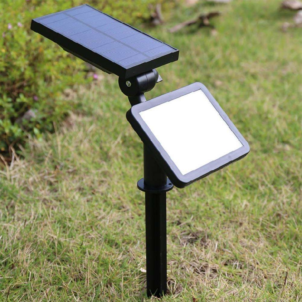 Inspiration about 48 Led Outdoor Lighting Garden Led Lawn Lamp Solar Powered Garden Intended For Solar Powered Outdoor Lights (#8 of 15)