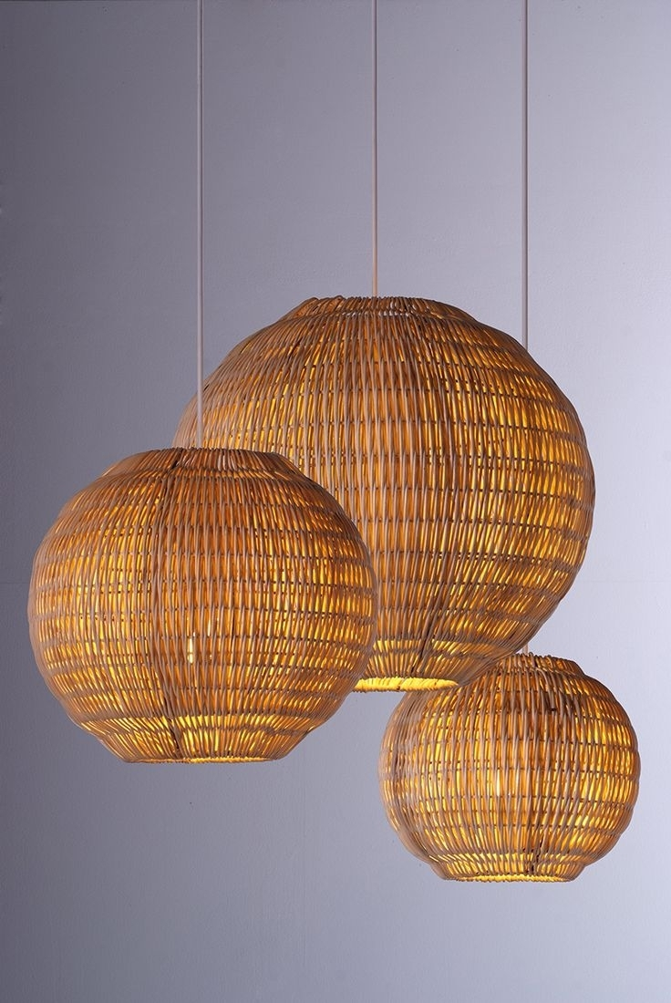 49 Best Piment Rouge Lighting Products Images On Pinterest | Bali In Outdoor Rattan Hanging Lights (View 5 of 15)