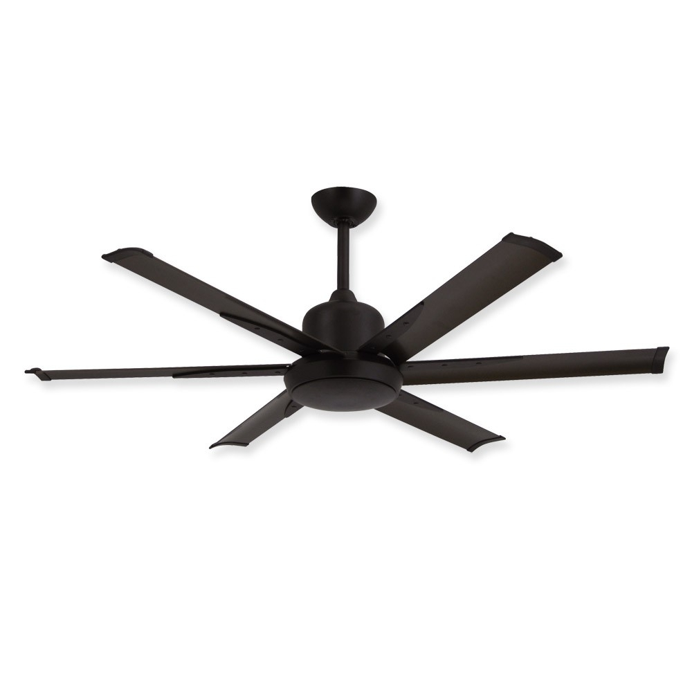 52 Inch Dc 6 Ceiling Fantroposair – Commercial Or Residential Throughout Bronze Outdoor Ceiling Fans With Light (#1 of 15)