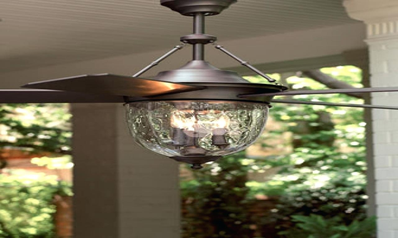 Inspiration about 52 Outdoor Ceiling Fan With Light Casa Vieja Tropical Bronze Hunter Pertaining To Outdoor Ceiling Fans With Lights (#15 of 15)