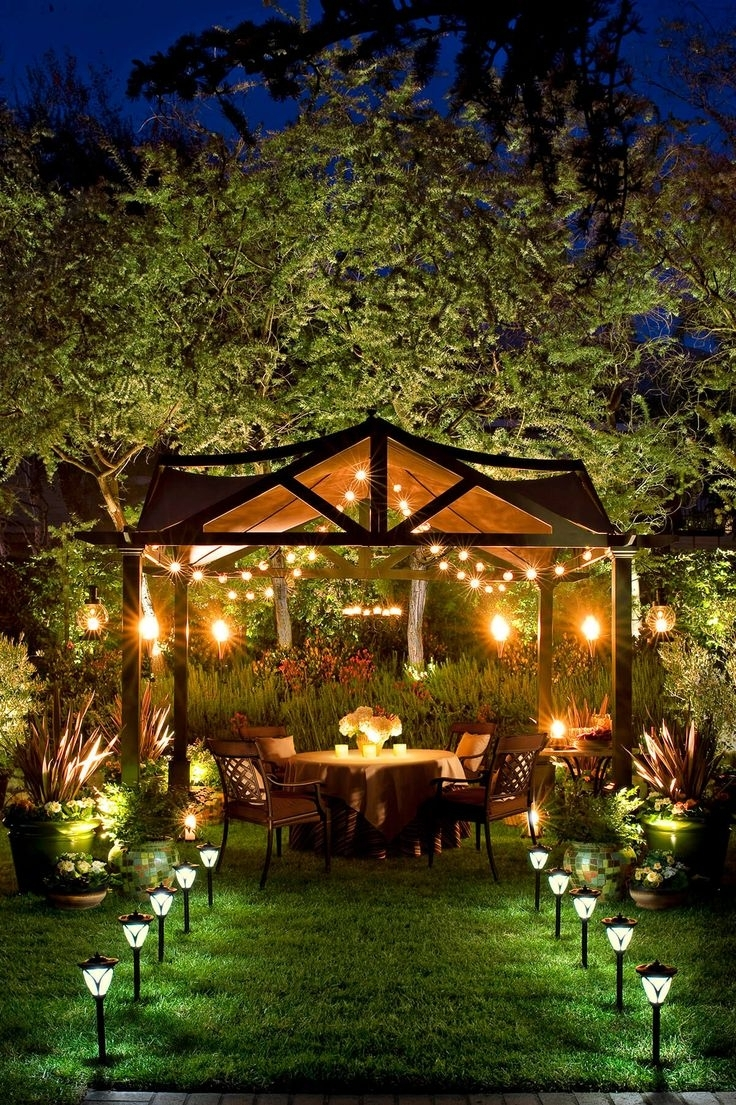523 Best Outdoor Lighting Ideas Images On Pinterest | Exterior Intended For Outdoor Hanging Garden Lights (View 11 of 15)