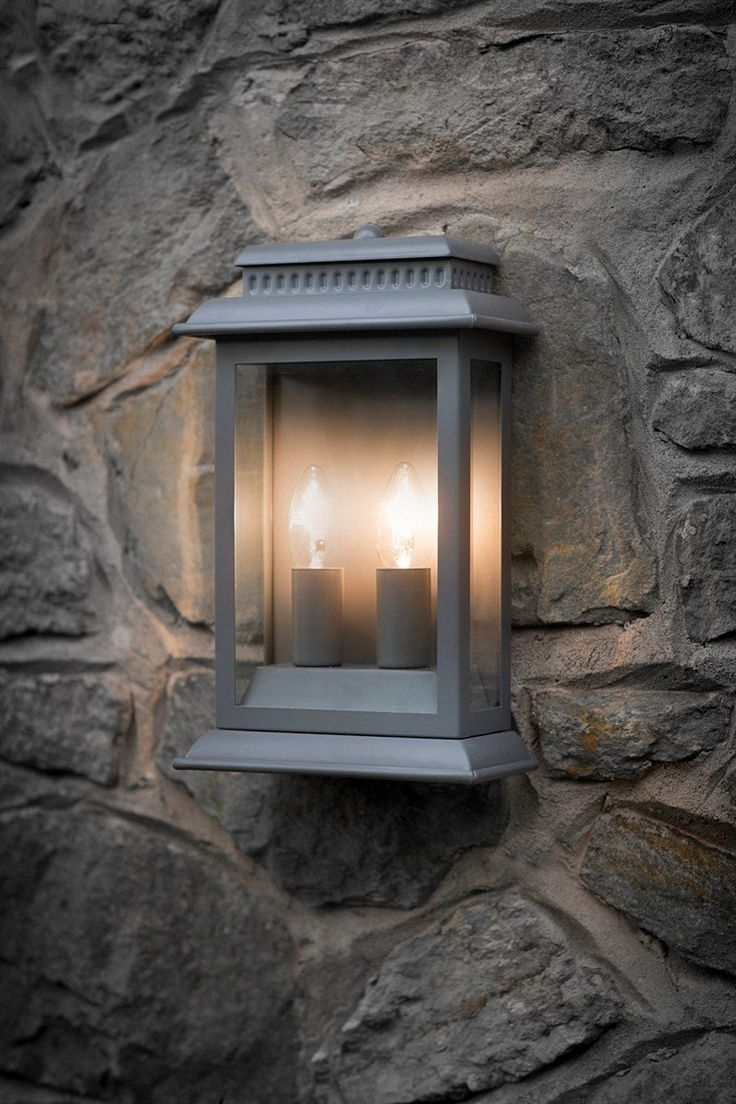 Inspiration about 9 Best Outside Light Images On Pinterest | Outdoor Wall Lighting For Outdoor Rock Wall Lighting (#11 of 15)