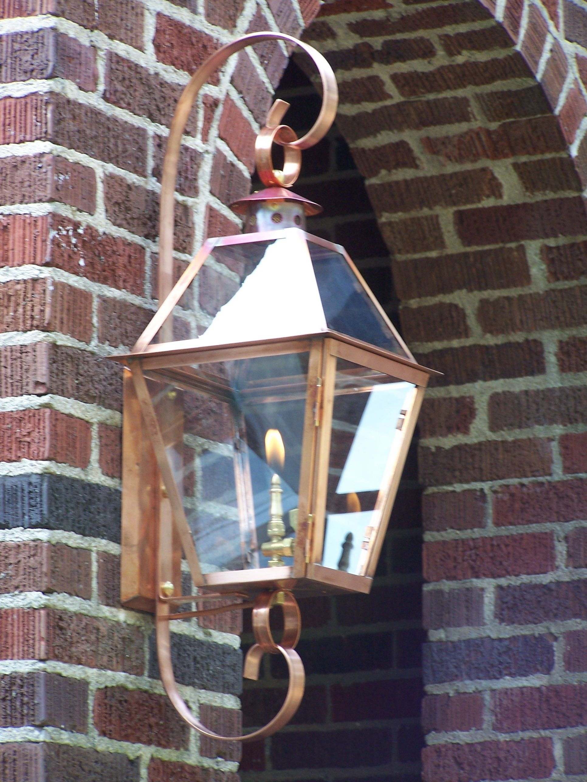 A Gas Lantern… Like Eye Candy For Your House! | Gas Lanterns, Lights With Outdoor Hanging Gas Lanterns (#2 of 15)