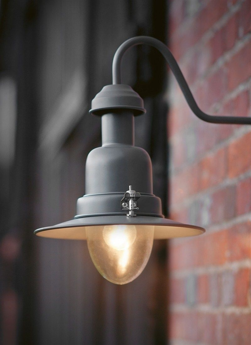 A Stylish Outdoor Wall Mounted Light In Our New Charcoal Colour Pertaining To Outdoor Wall Mounted Lights (View 4 of 10)