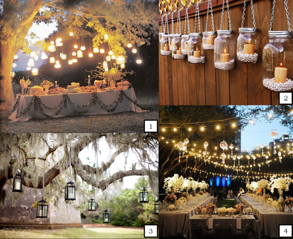 Abbey Road Weddings » Hanging Wedding Lights Inside Hanging Lights On An Outdoor Tree (#3 of 15)