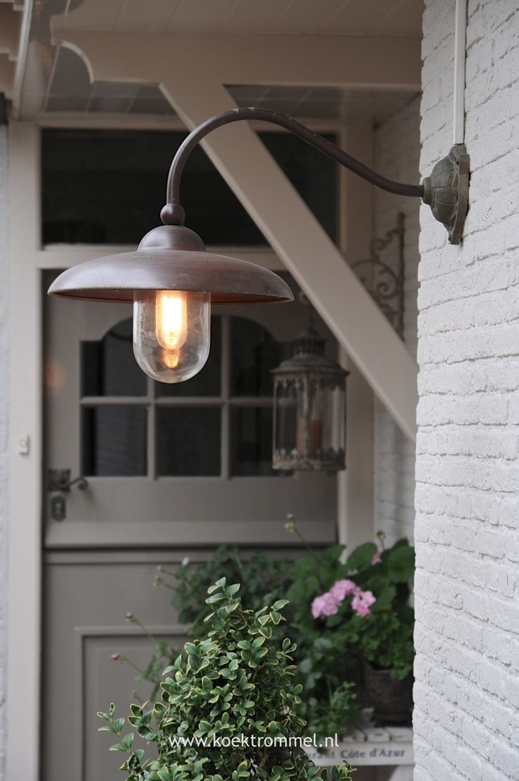 Above Kitchen Windows, Buitenlamp Lucce, Can't Seem To Find In Usa Intended For Cottage Outdoor Lighting (#1 of 15)