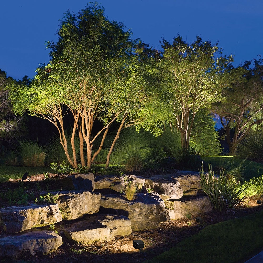 Accent Lighting For House Tags : 94 Excellent Accent Lighting Images With Outdoor Rock Wall Lighting (#3 of 15)