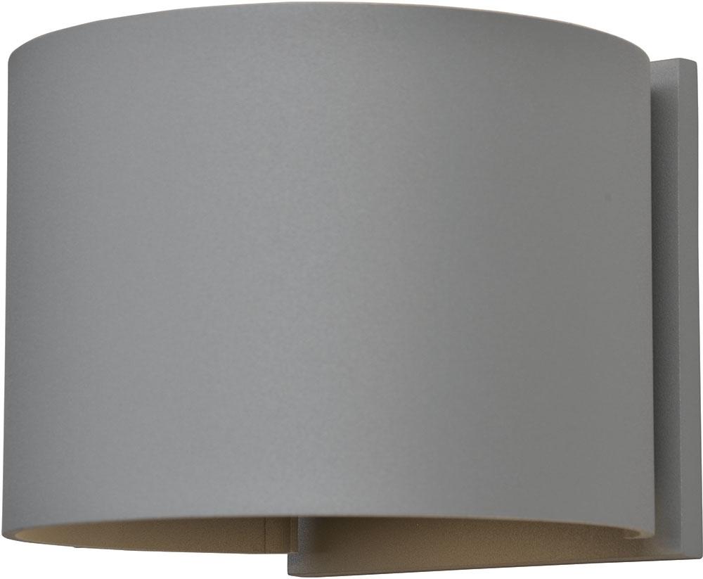 Access 20399Ledmgrnd Sat Curve Contemporary Marine Grade Satin Throughout Marine Grade Outdoor Wall Lights (#3 of 15)