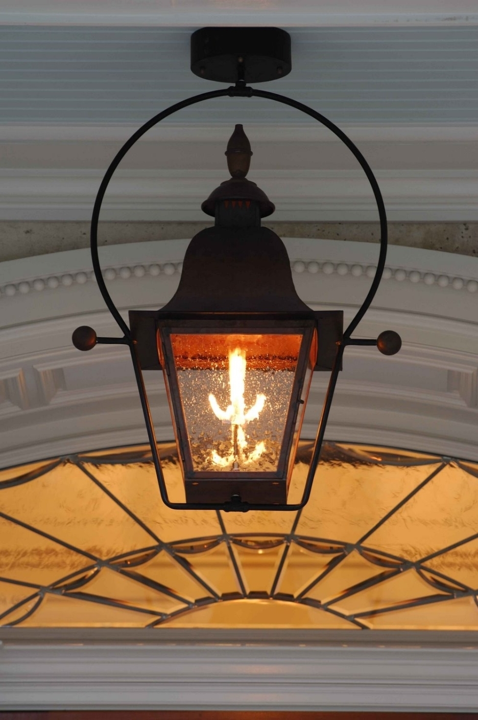 Accessories: Awesome Black Metal Frame Hanging Outside Gas Lighting Throughout Outdoor Hanging Gas Lights (View 2 of 15)