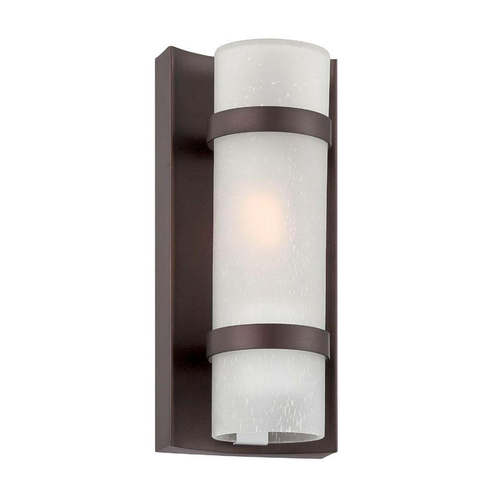 Acclaim Lighting Apollo Collection 1 Light Architectural Bronze Throughout Contemporary Outdoor Wall Lights (View 11 of 15)