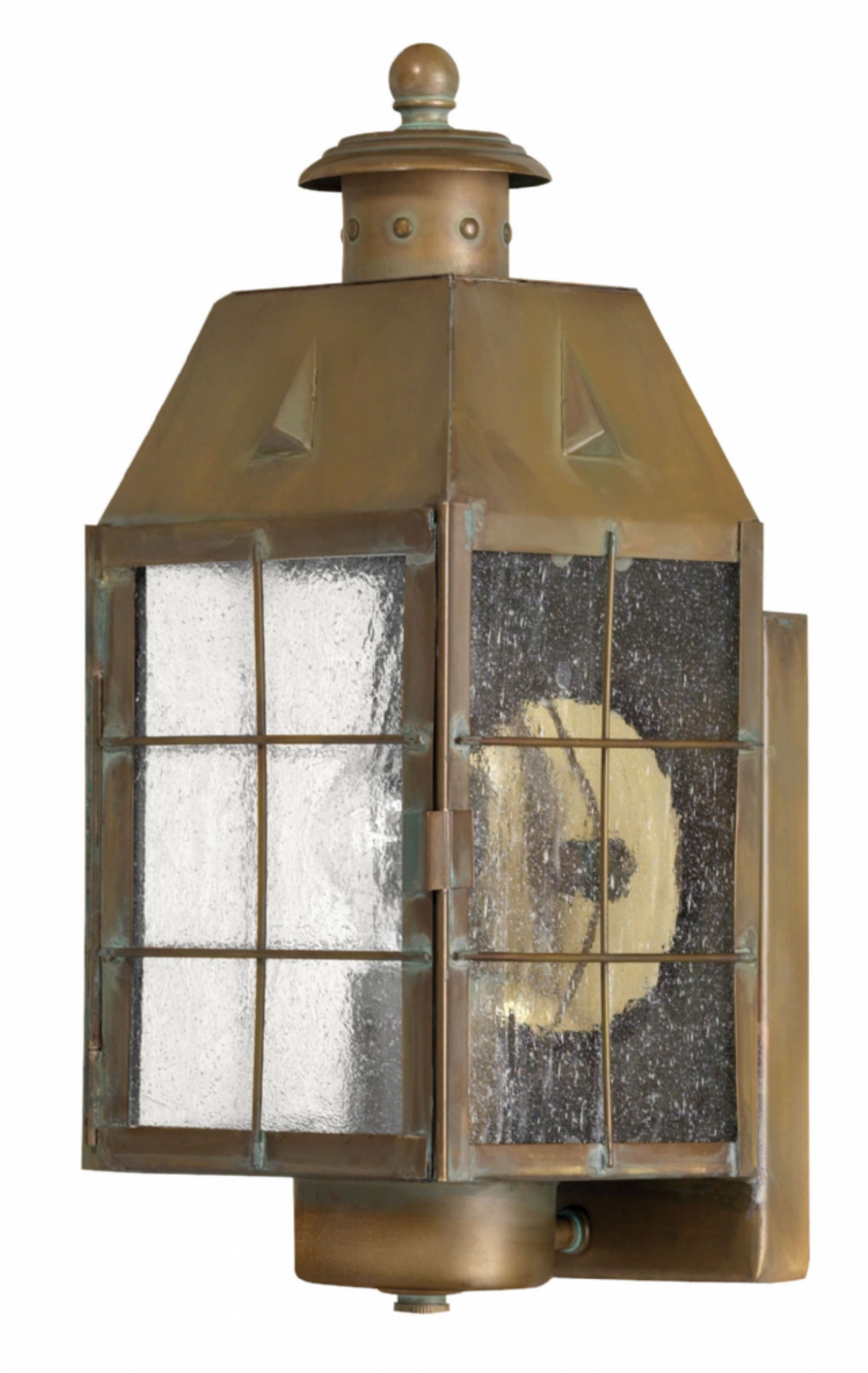 Aged Brass Nantucket > Exterior Wall Mount Pertaining To Brass Outdoor Ceiling Lights (#1 of 15)
