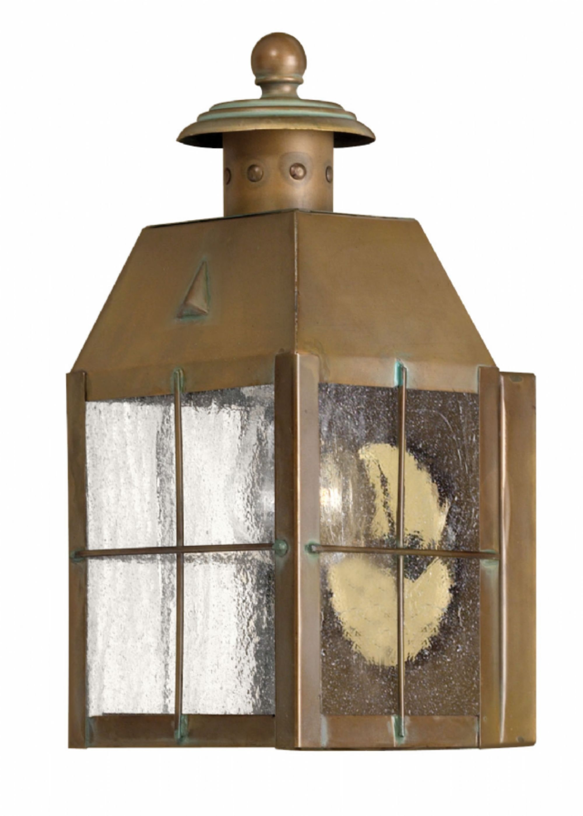 Aged Brass Nantucket > Exterior Wall Mount Pertaining To Brass Porch Hinkley Lighting (#4 of 15)