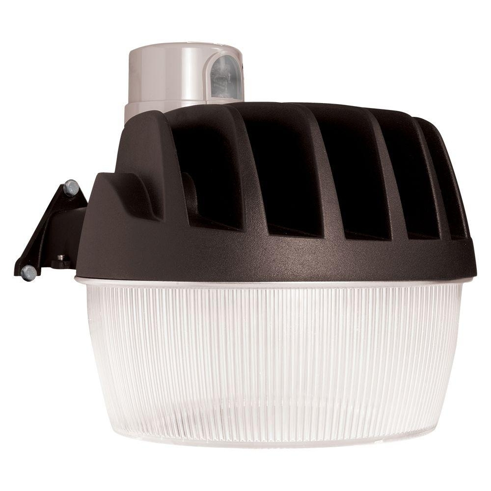 All Pro Gray Outdoor Led Area And Wall Dusk To Dawn Security Light With Dusk To Dawn Led Outdoor Wall Lights (#3 of 15)