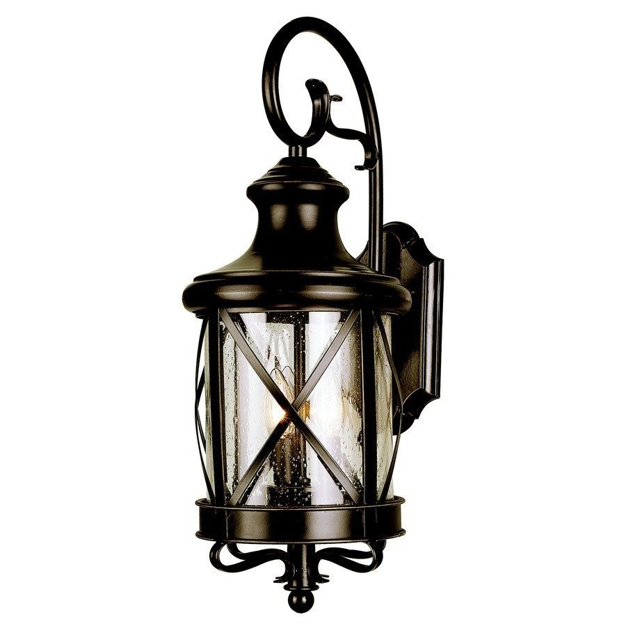 Allen + Roth 20 1/2 In Bronze Outdoor Wall Mounted Light | Lowe's Canada For Outdoor Wall Mounted Globe Lights (#1 of 15)
