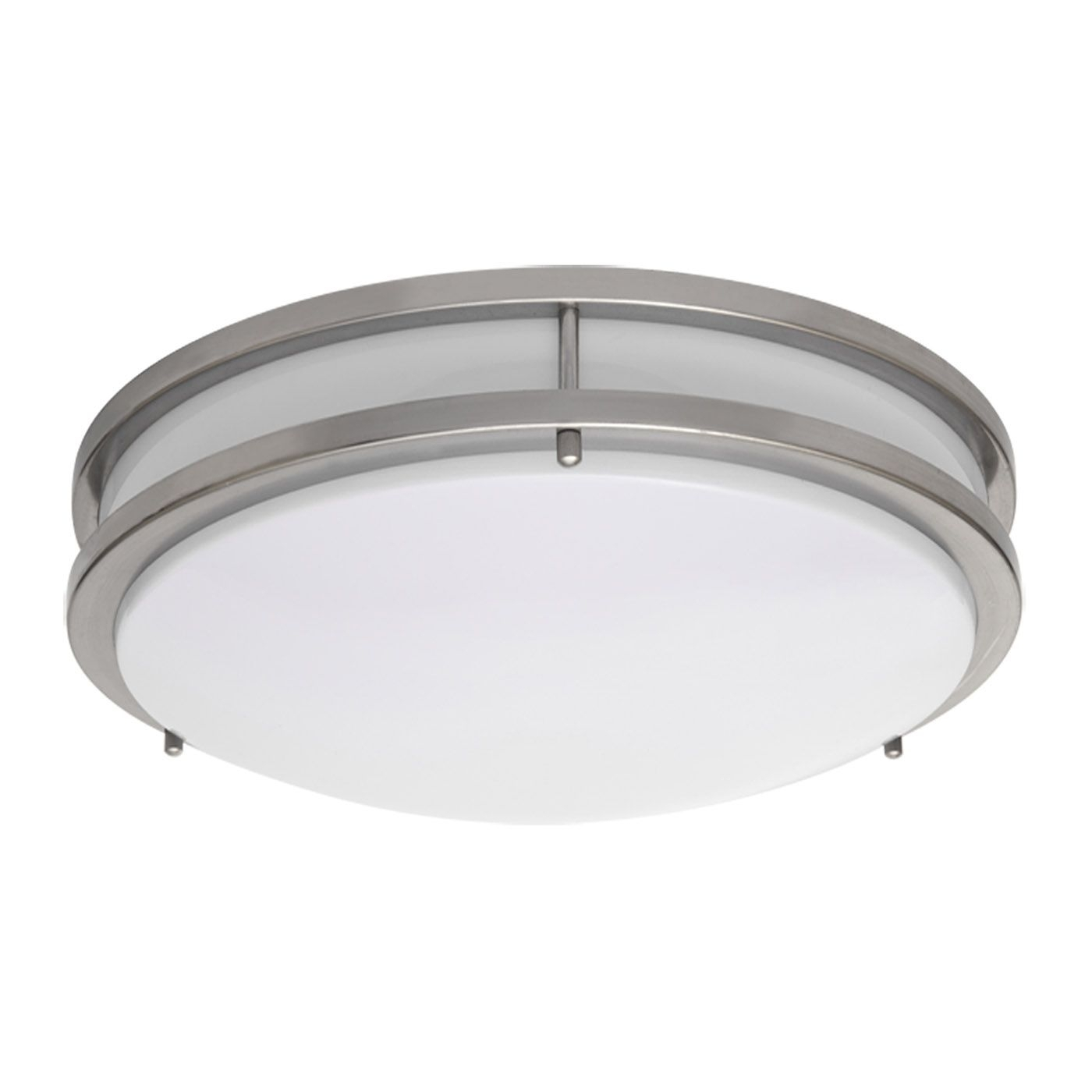 Amax Lighting Led Ceiling Fixtures Led Jr00 Led Two Ring Flush Mount In Outdoor Ceiling Mount Led Lights (#1 of 15)