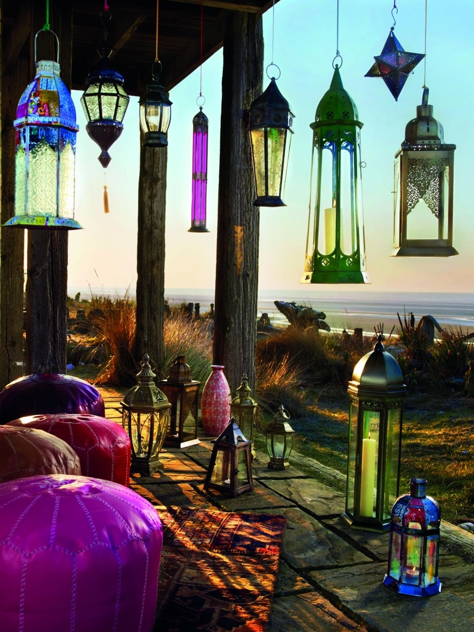 Amazing Home Outdoor Lamp Deco Showcasing Inspiring Hanging Moroccan In Outdoor Hanging Moroccan Lanterns (View 6 of 15)