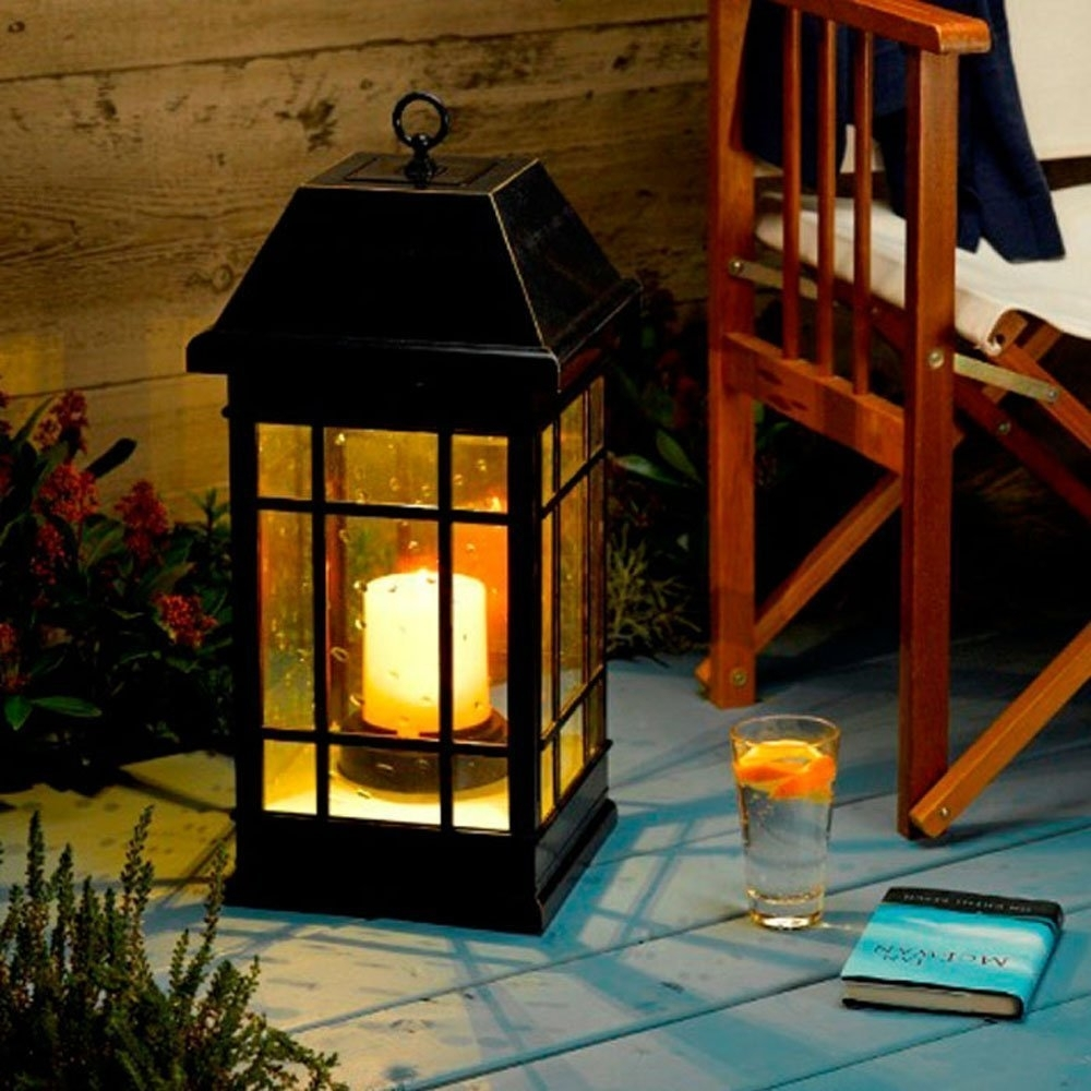 Amazon : Smart Solar 3900Kr1 San Rafael Mission Style Solar With Regard To Outdoor Hanging Lanterns At Amazon (#2 of 15)