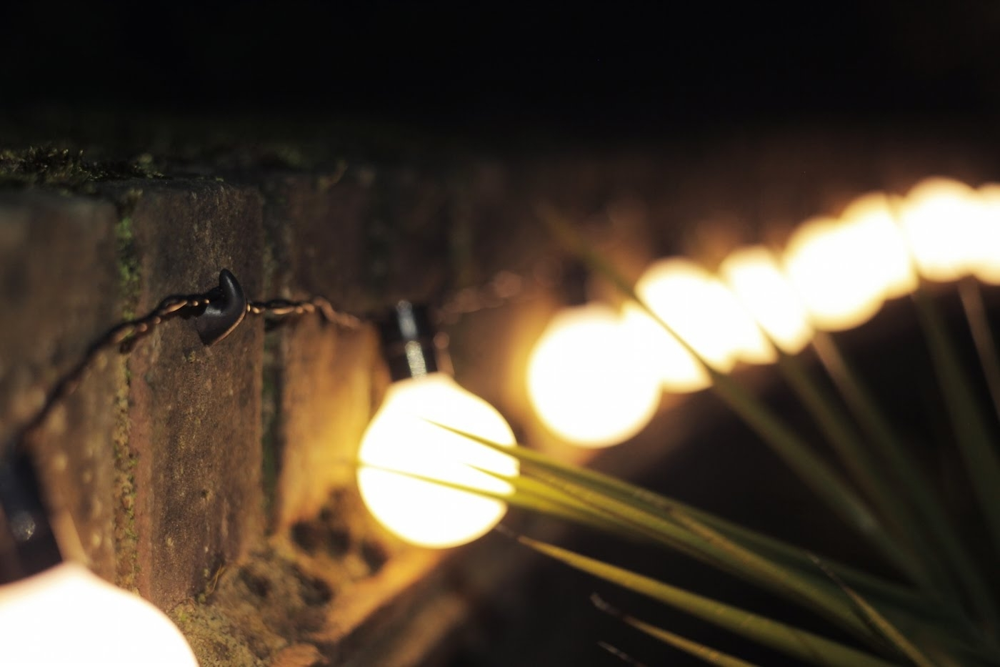 An Easy Way To Hang String Lights Outside – Youtube Pertaining To Hanging Outdoor Lights On Stucco (#1 of 15)