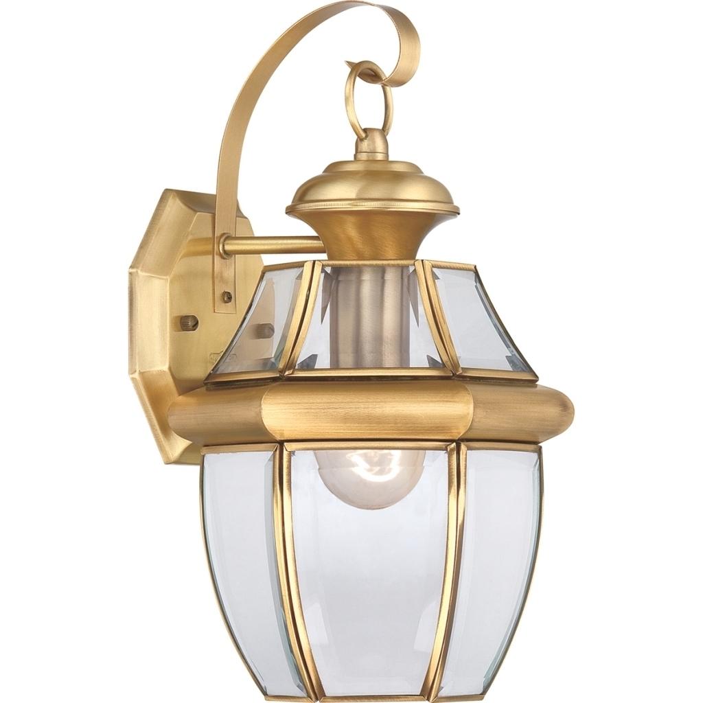 Antique Brass Outdoor Lighting | Backyard Landscape Design For Brass Outdoor Ceiling Lights (#2 of 15)