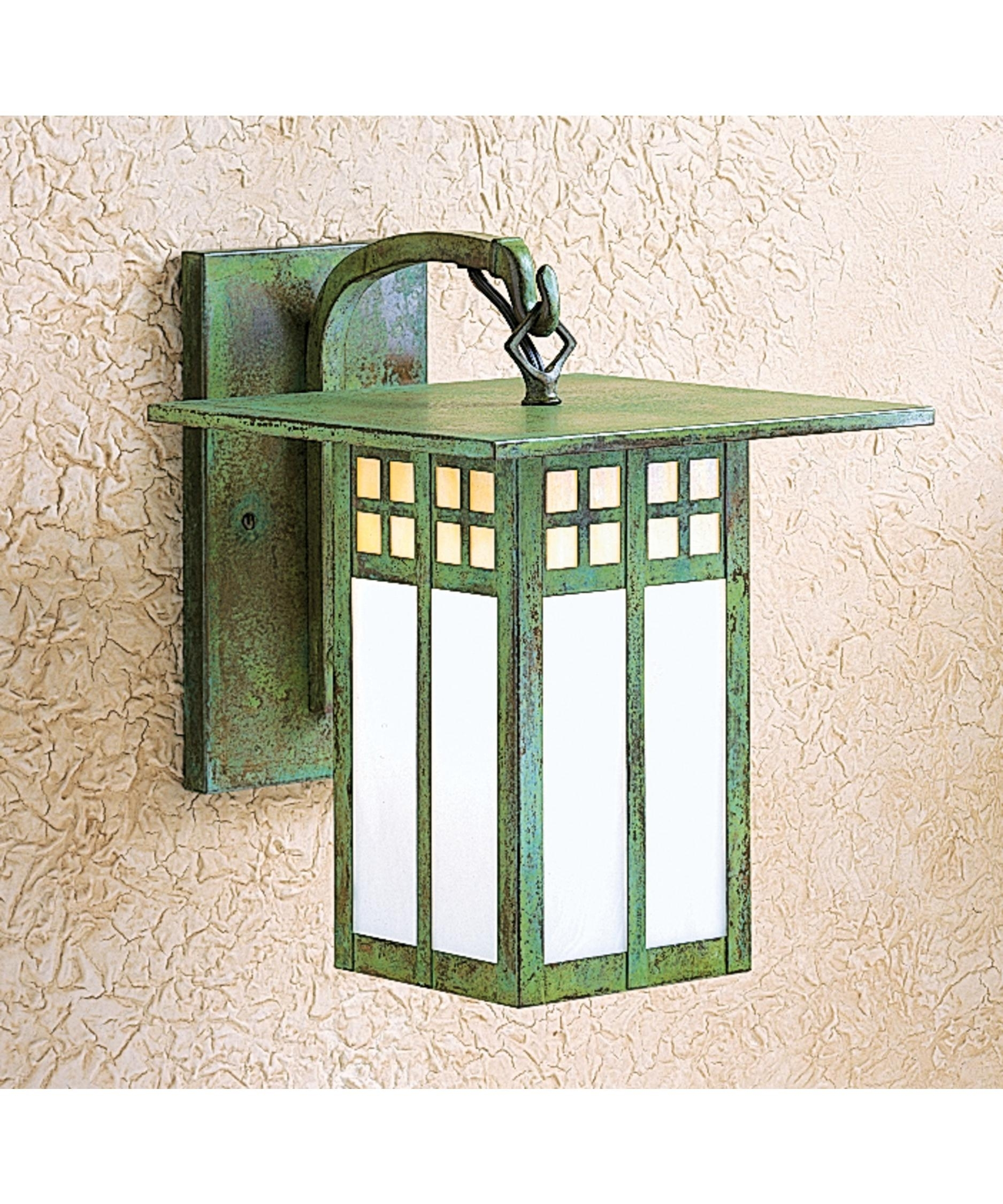 Arroyo Craftsman Gb 9 Glasgow 9 Inch Wide 1 Light Outdoor Wall Light Pertaining To Green Outdoor Wall Lights (#1 of 15)