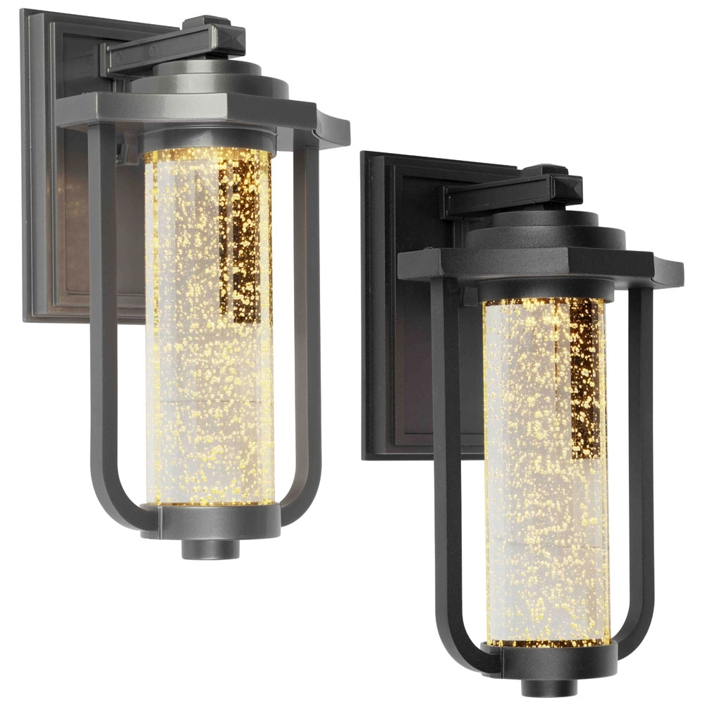"""Artcraft Ac9012 North Star Traditional 8"""" Wide Led Exterior Wall In Traditional Outdoor Wall Lights (#1 of 15)"""