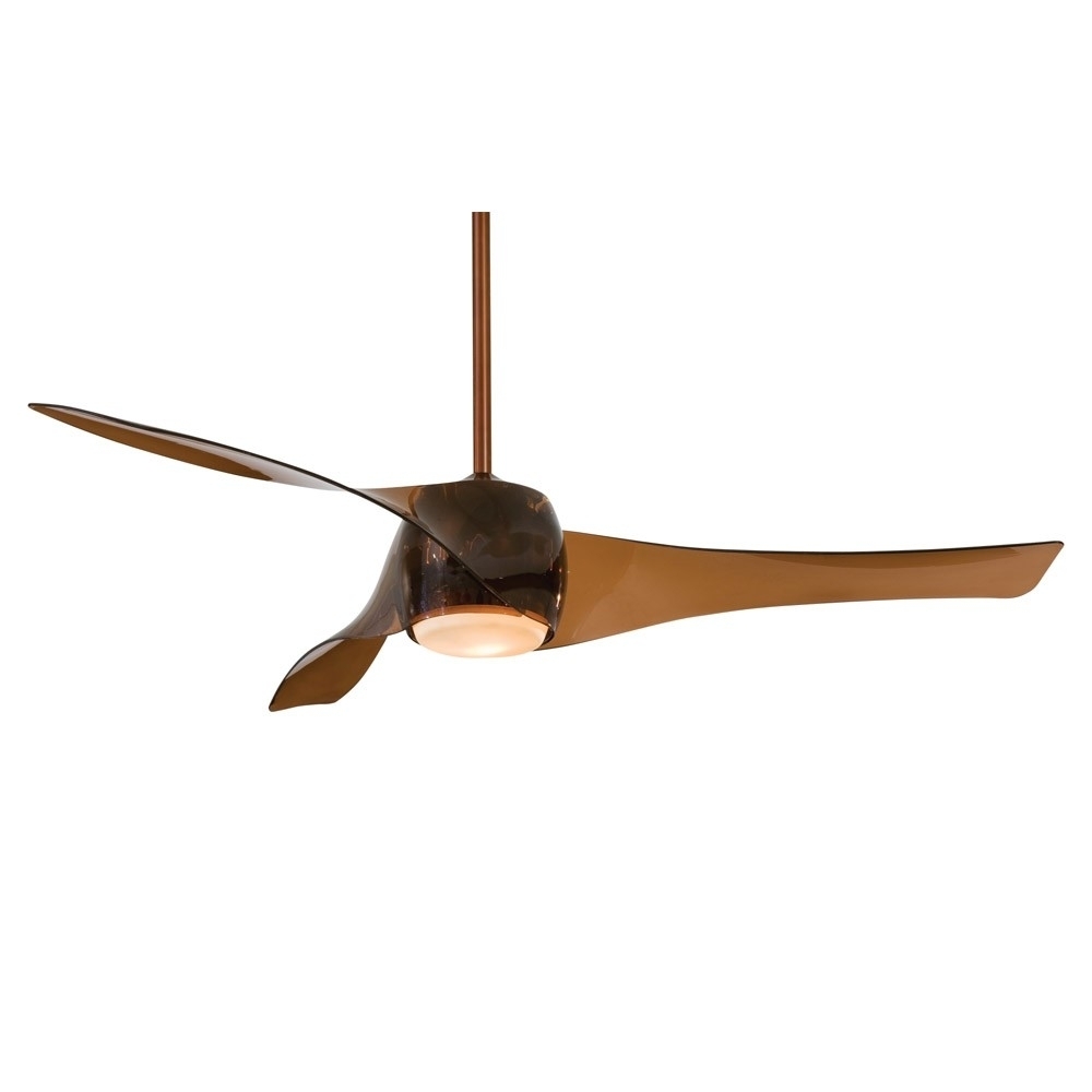Artemis Ceiling Fanminka Aire – 58 Inch Fan In Copper Bronze Finish With Regard To Outdoor Ceiling Fans With Copper Lights (#3 of 15)
