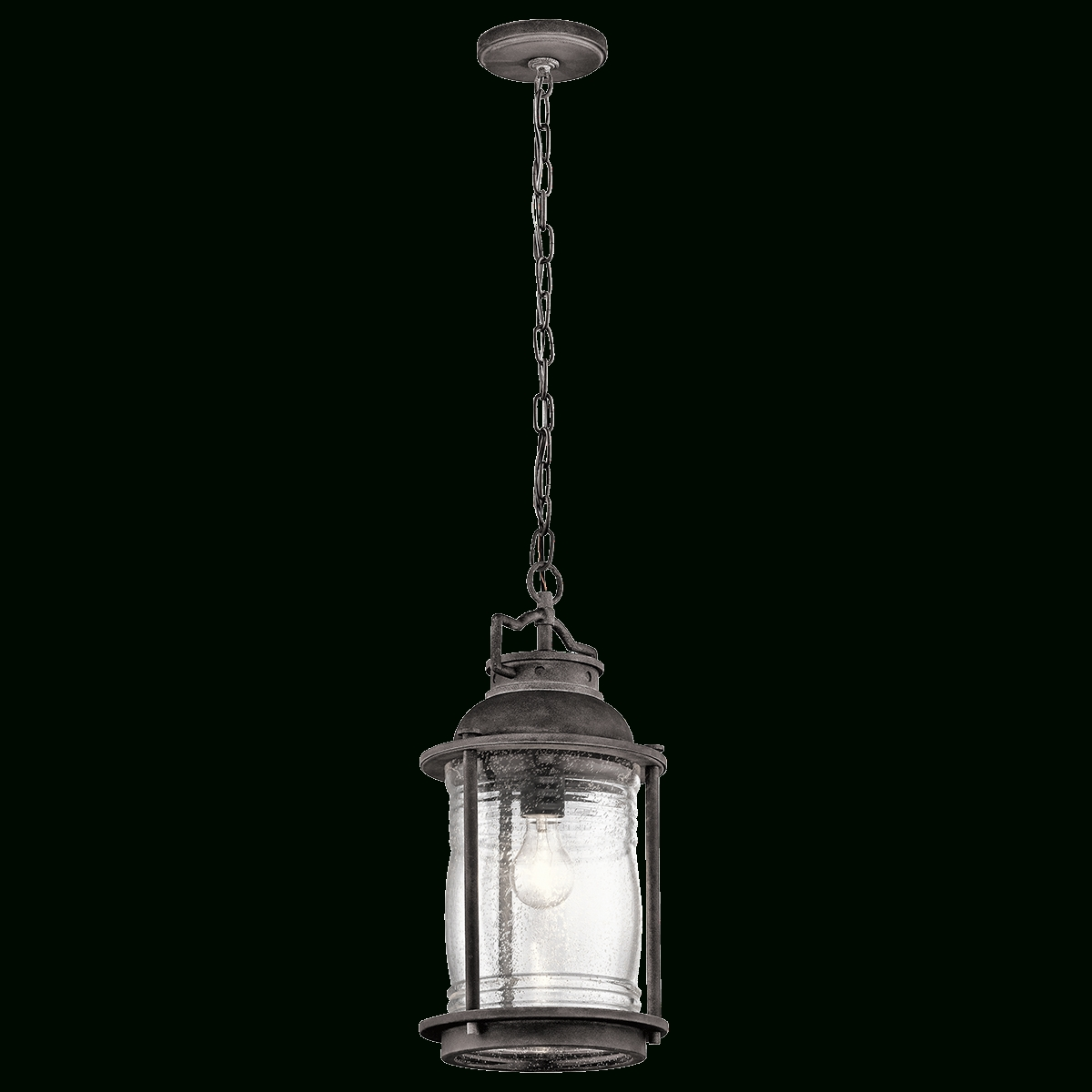 Ashland Bay 1 Light Outdoor Pendant – Wzc 49572Wzc Kichler For Outdoor Pendant Kichler Lighting (View 6 of 15)