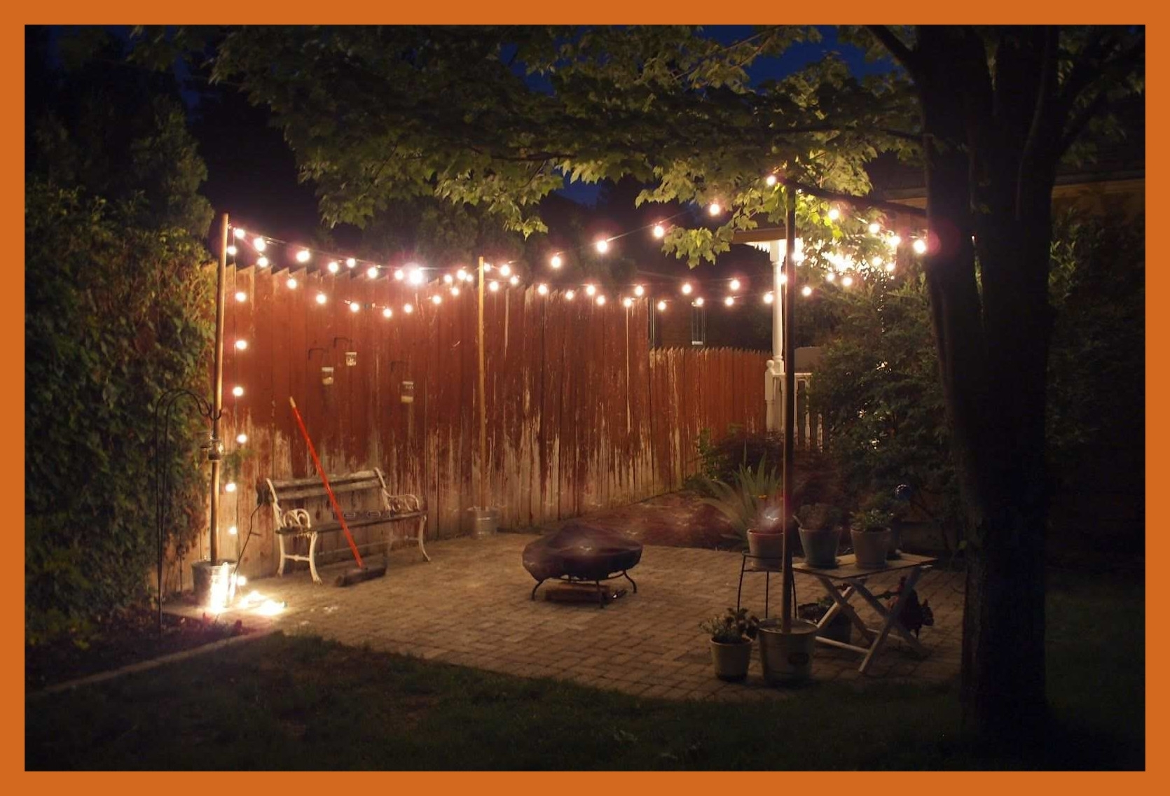 Astonishing How To Hang Outdoor String Lights On Stucco Best Of Pics For Hanging Outdoor Lights On Stucco (#2 of 15)