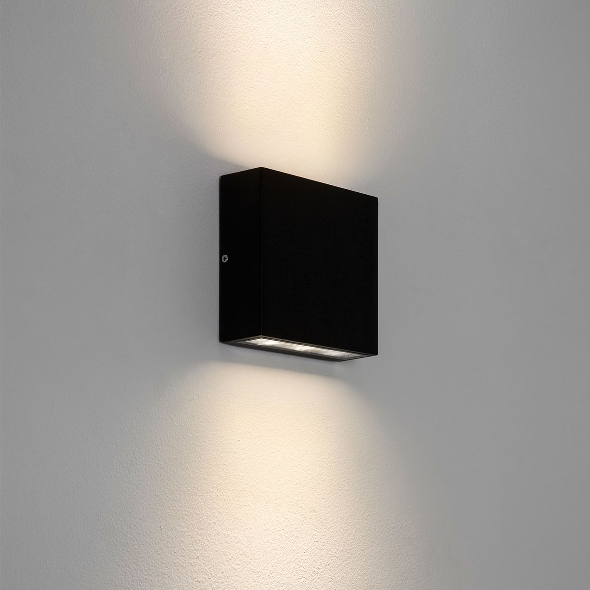 Astro Elis Twin Black Outdoor Led Wall Light At Uk Electrical Supplies (#3 of 15)