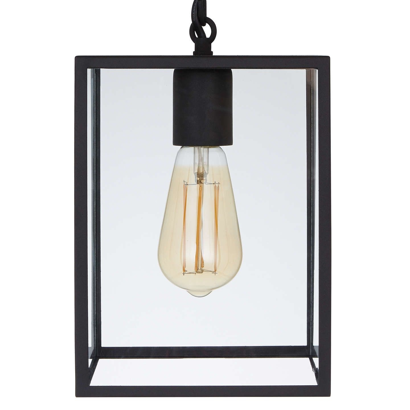 Astro Homefield Outdoor Pendant Ceiling Light, Black | Ceiling, John Throughout John Lewis Outdoor Ceiling Lights (View 4 of 15)