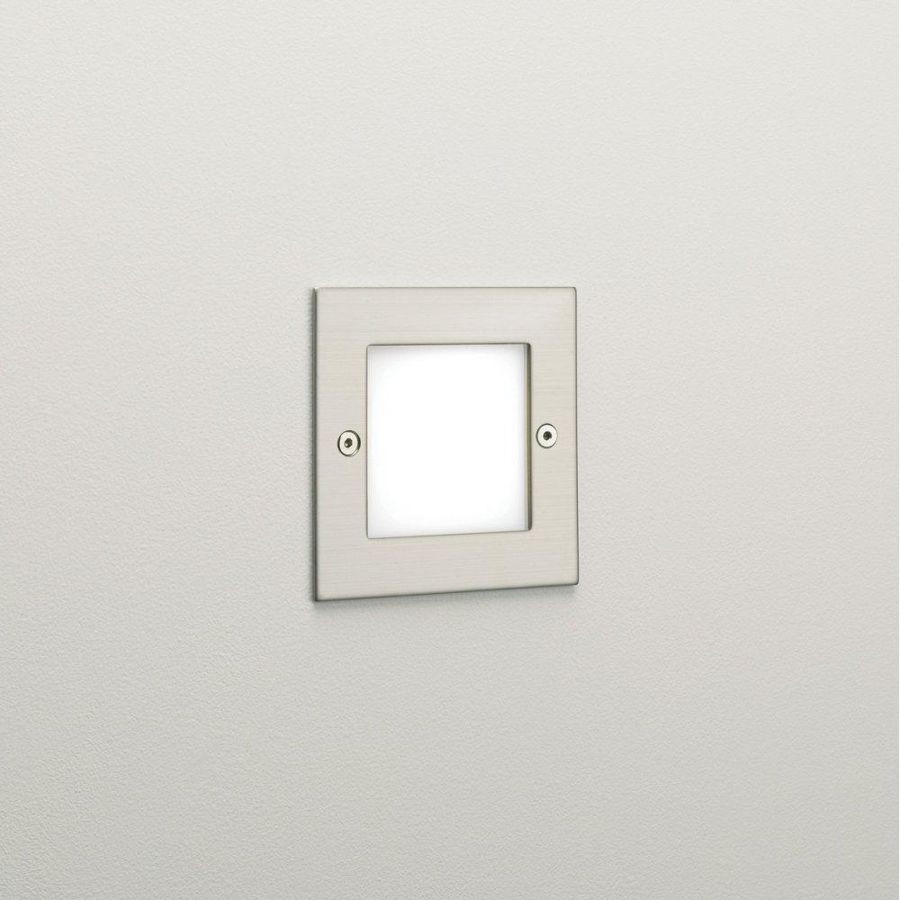 Astro Lighting 0947 Kalsa Led Recessed Exterior Wall Light At Within Recessed Outdoor Wall Lighting (#2 of 15)