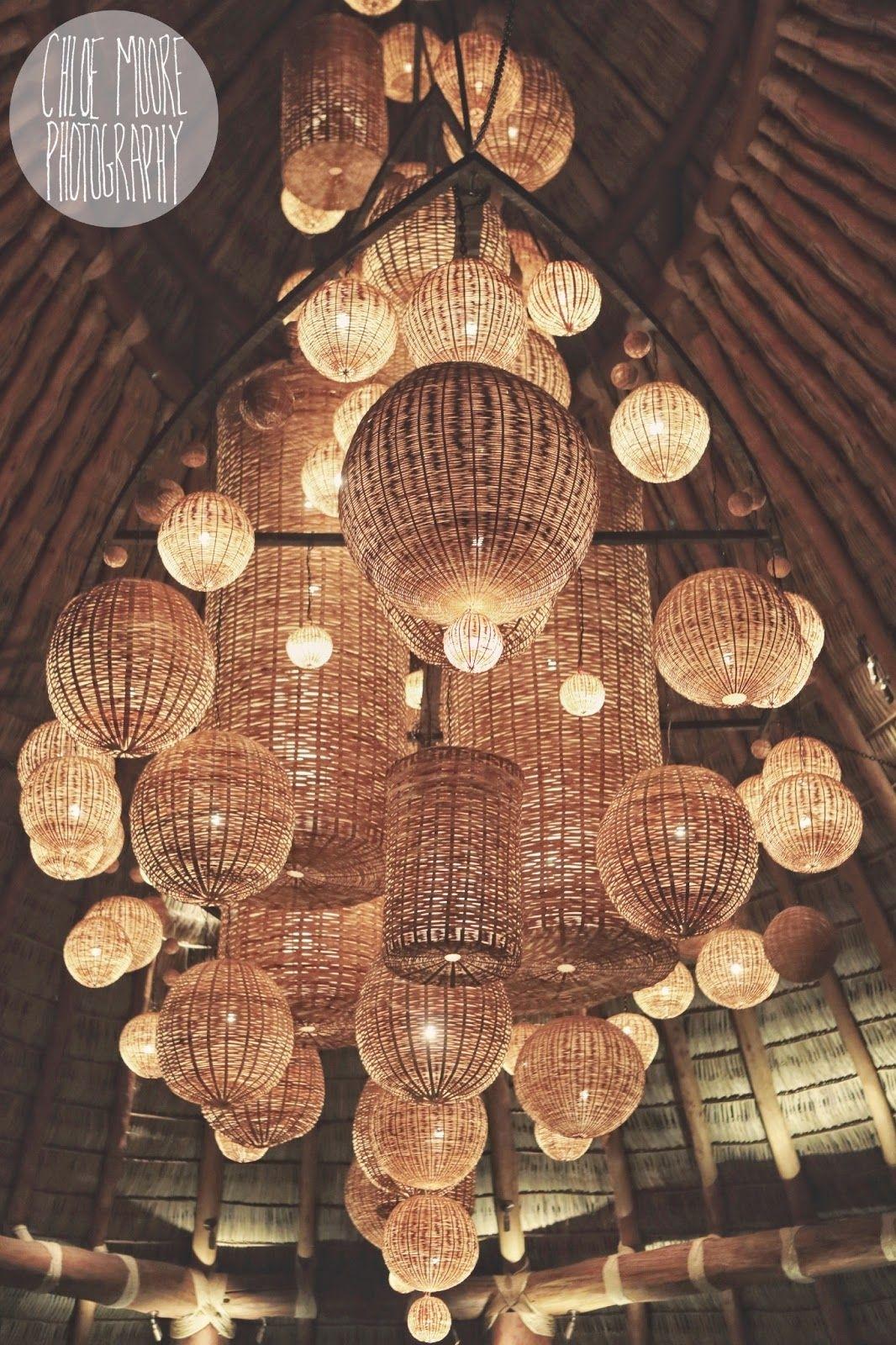 Awesome Wicker Basket Lighting Mukul Resort, Nicaragua (View 6 of 15)