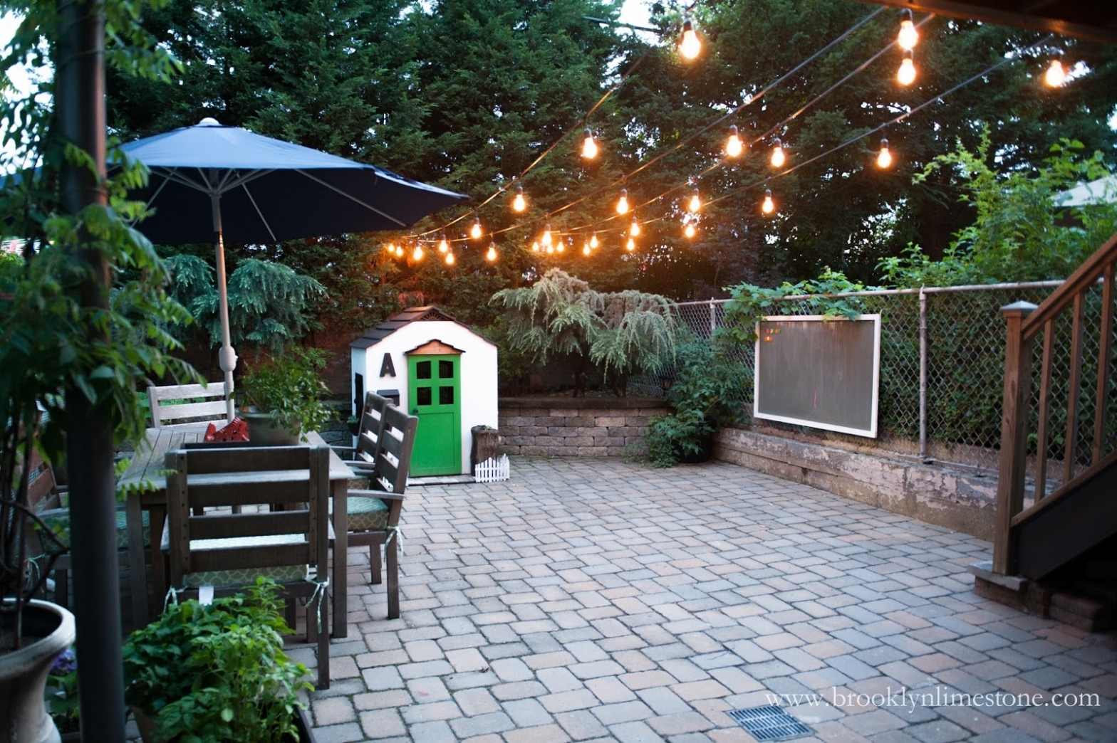 Backyard ~ Backyard : String Light Suspension Kit Diy Outdoor String With Outdoor Patio Hanging String Lights (View 14 of 15)