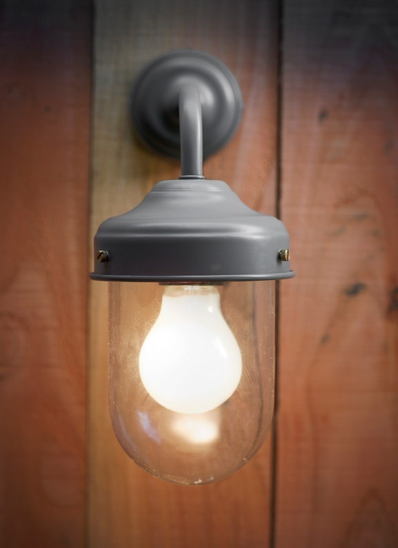 Barn Light In Charcoal – Steel | Garden Trading Within Barn Outdoor Wall Lighting (#2 of 15)