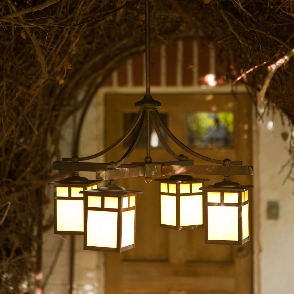 Battery Operated Outdoor Chandelier Images About Also Hanging Lights Regarding Outdoor Hanging Lanterns With Battery Operated (#1 of 15)