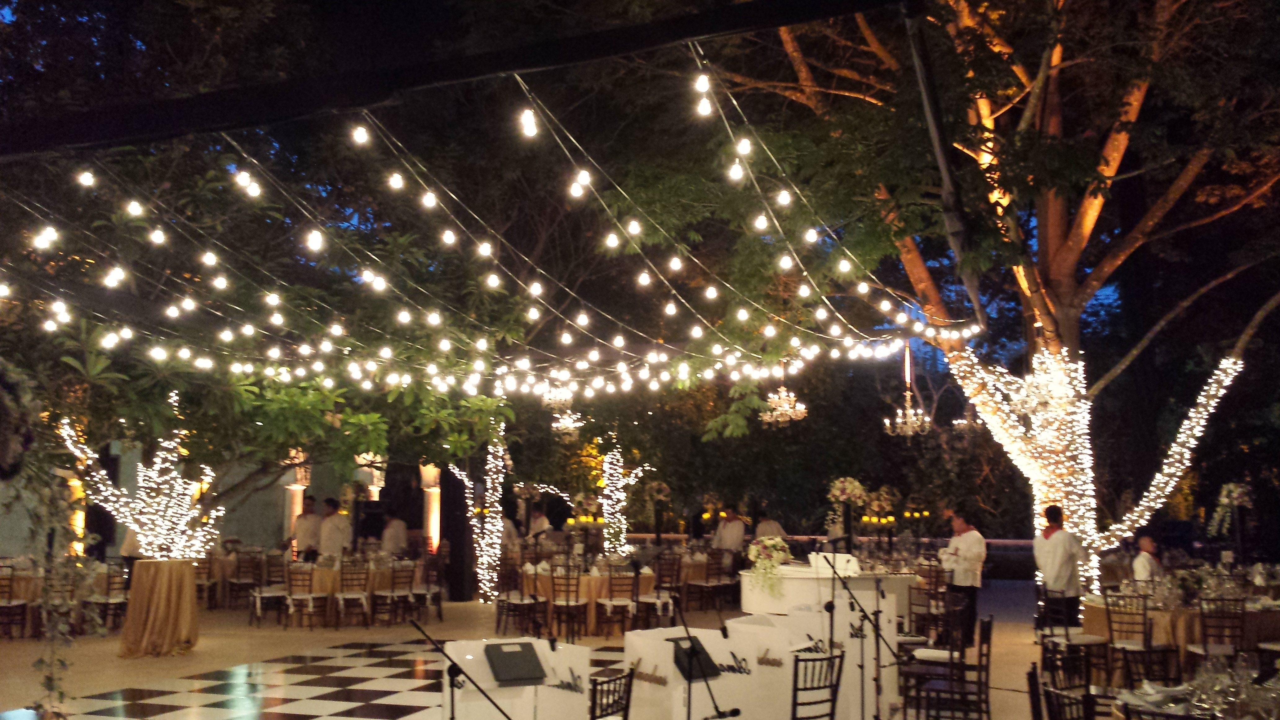 Beautiful Outdoor Deck Lights | Magnificent Lighting Design Within Outdoor Hanging String Lanterns (View 6 of 15)