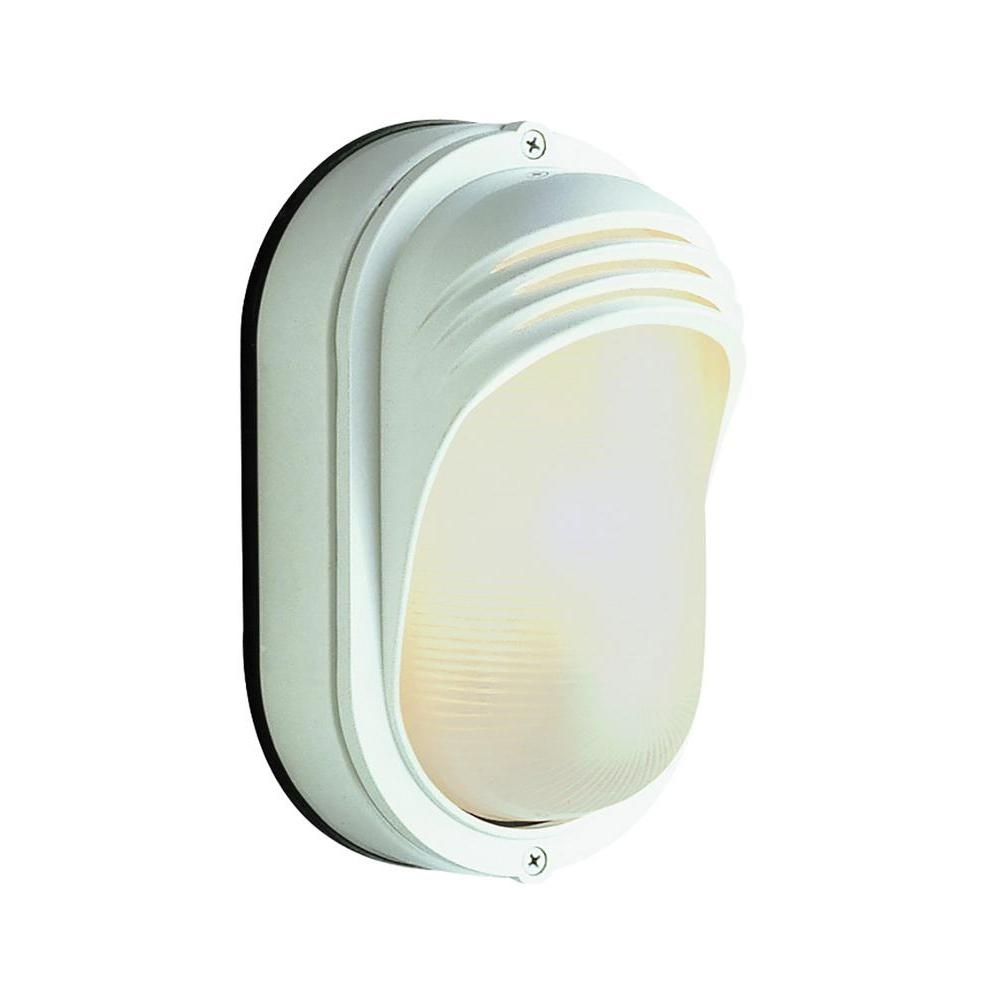 Bel Air Lighting Fringe Rust 1 Light Outdoor Bulkhead 4124 Rt – The With Regard To Outdoor Ceiling Bulkhead Lights (#4 of 15)
