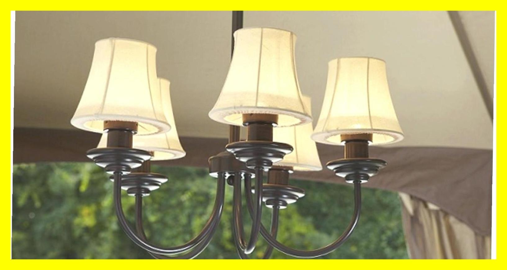 Best Chandelier Outdoor Gazebo Lighting Chandelierpatio Picture Of Inside Outdoor Hanging Gazebo Lights (#2 of 15)