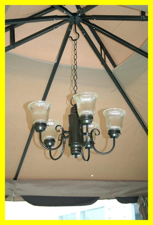 Best Chandelier Outdoor Gazebo Lighting Chandelierpatio Picture Of With Outdoor Hanging Gazebo Lights (#4 of 15)