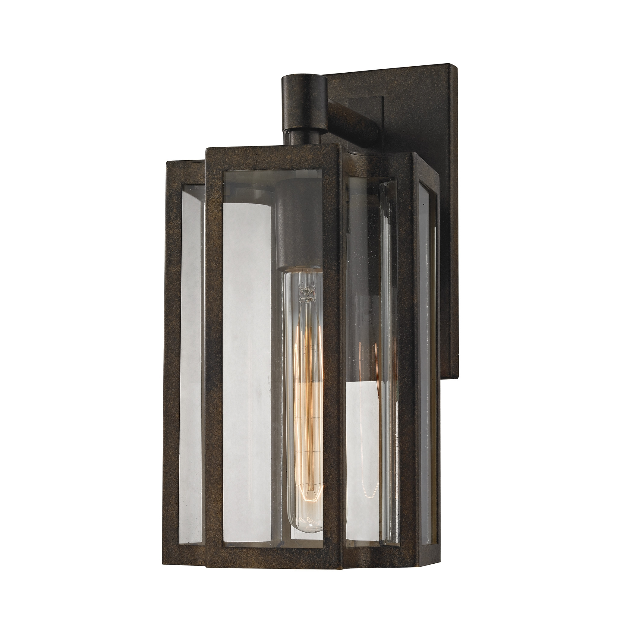 Bianca 1 Light Outdoor Wall Lantern | Outdoor Walls, Outdoor Wall Within Outdoor Lighting And Light Fixtures At Wayfair (View 10 of 15)